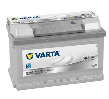 Varta E38 Heavy Duty 12 Volt 100 74Ah 750CCA 5 Year Audi Ford Renault Vauxhall Seat VW Car Battery Thumbnail 1