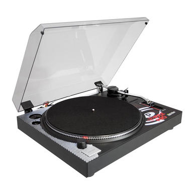 Pyle Pro Belt Drive Vinyl Turntable With Adjustable Pitch Cartridge And Stylus Thumbnail 2