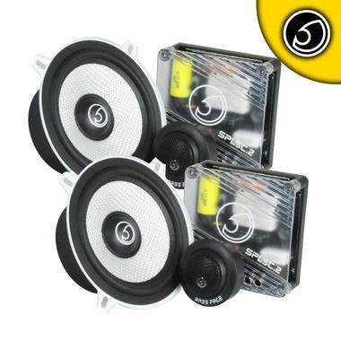"""Bassface SPL5C.2 700w 5.25"""" Inch 13cm Car Door Component Speaker & Tweeter Kit Thumbnail 2"""