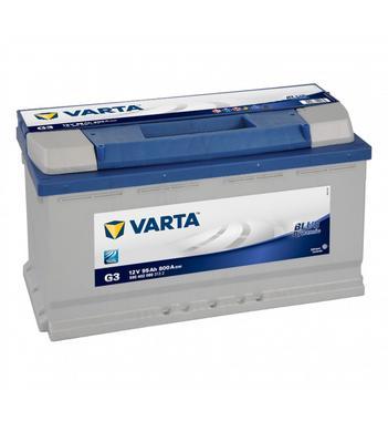 Varta G3 Heavy Duty 12 Volt 019 95Ah 800CCA 4 Year Audi BMW Mercedes VW Car Battery Thumbnail 1