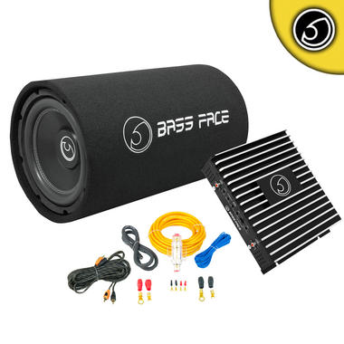 "Bassface BASS10.1 DB2.1 10"" Inch 1100w Car Audio Amplifier Sub Subwoofer Package Thumbnail 1"