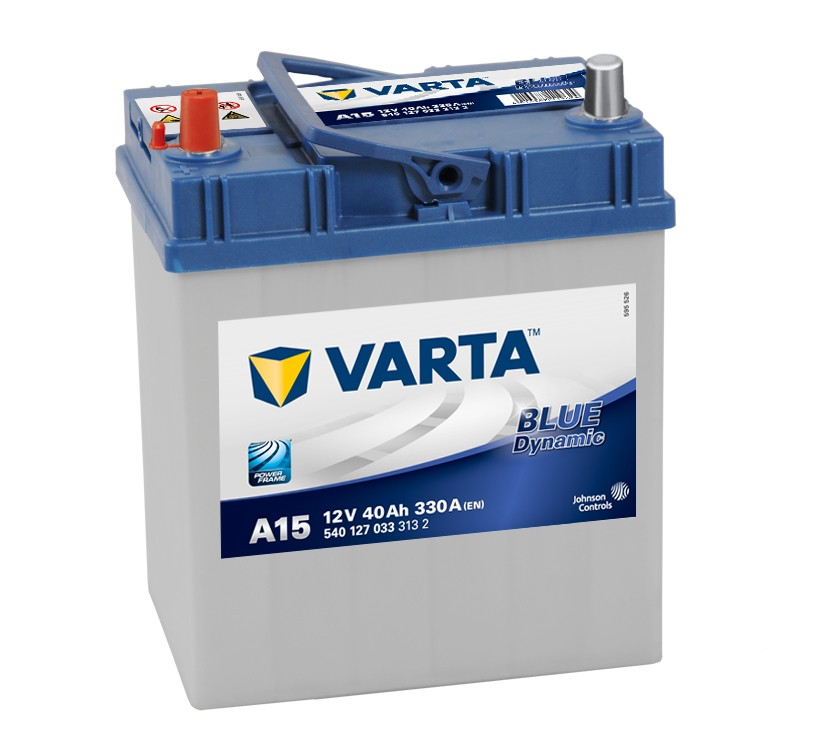 Varta A15 Heavy Duty 12 Volt 055 40Ah 330CCA 4 Year Suzuki Toyato Honda Car Battery