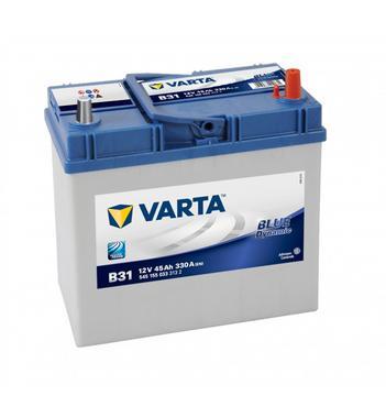 Varta B31 Heavy Duty 12 Volt 156 / 054 45Ah 330CCA 4 Year Daihatsu Suzuki Honda Car Battery Thumbnail 1