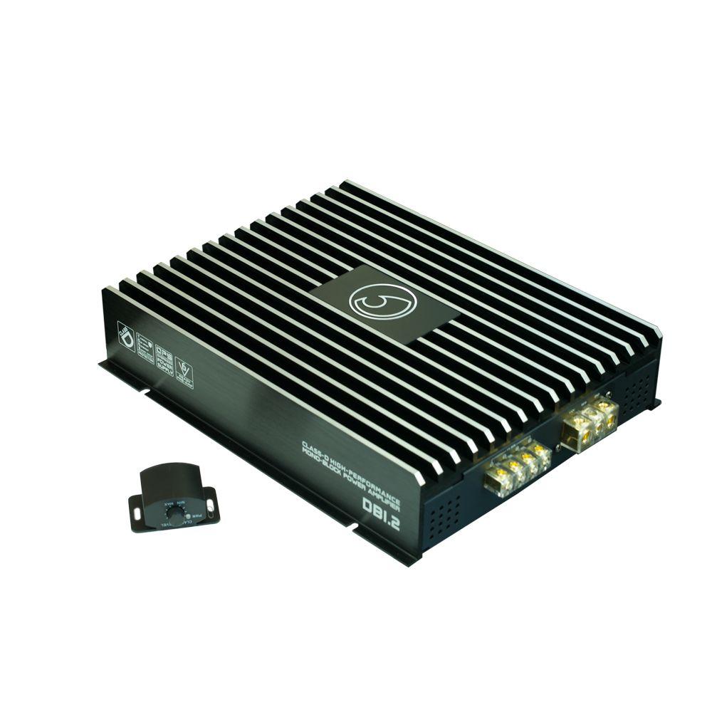 Bassface DB1.2 2000w 1Ohm Class D Monoblock Car Subwoofer Amplifier Mono Sub Amp