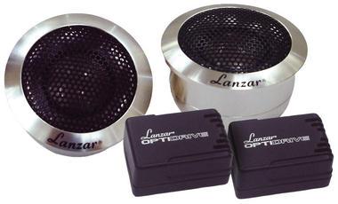 Lanzar Titanium Dome 200w Car Dash Door Tweeters Flush Mount Speakers Pair Thumbnail 2