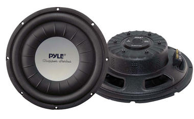 "Pyle Chopper 12"" Inch 1200w Slim Shallow Mount Underseat Car Subwoofer Bass Sub Thumbnail 2"