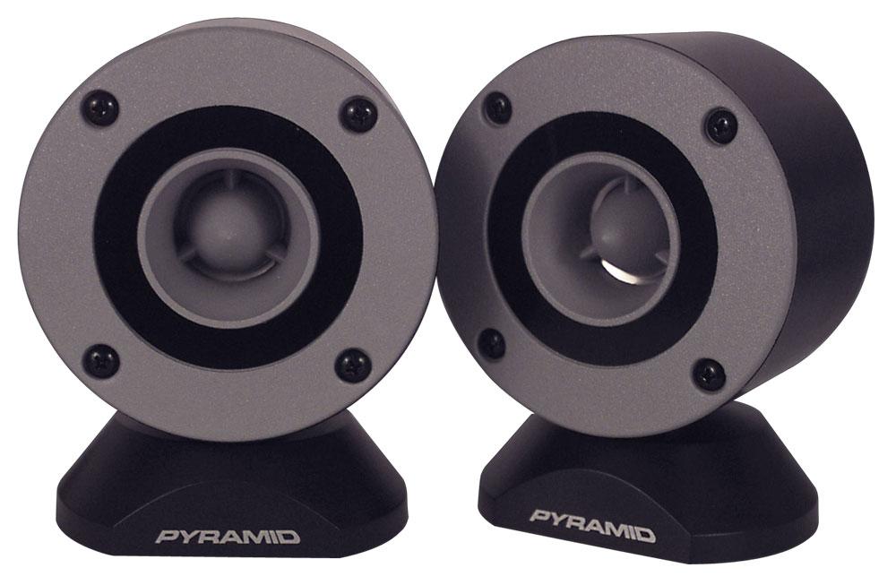 """Pyramid TW28 Door Dash Mount Surface Fit 300w 3.25"""" Bullet Horn Tweeters"""