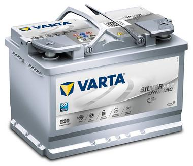 Varta E39 Heavy Duty 12 Volt 096 70Ah 760CCA AGM 4 Year Audi BMW VW Toyato Car Battery Thumbnail 1