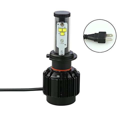 DS18 AS-HLLEDH76K LED H7 477 6K Car Headlight Upgraded Bulbs