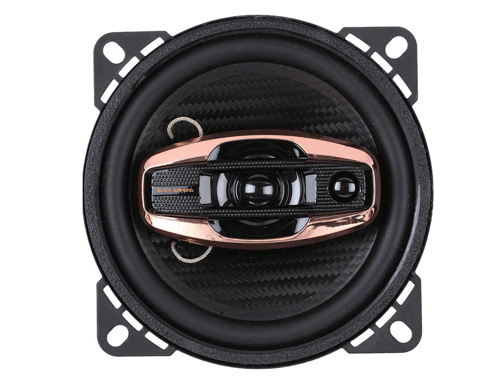 "DS18 BD-G44 Black Diamond 240 Watts 4"" Inch Coaxial Speakers Pair"