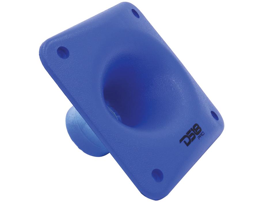 "DS18 PRO-HELLIP Blue 1/4"" Twist Throat Horn PA Audio Driver"