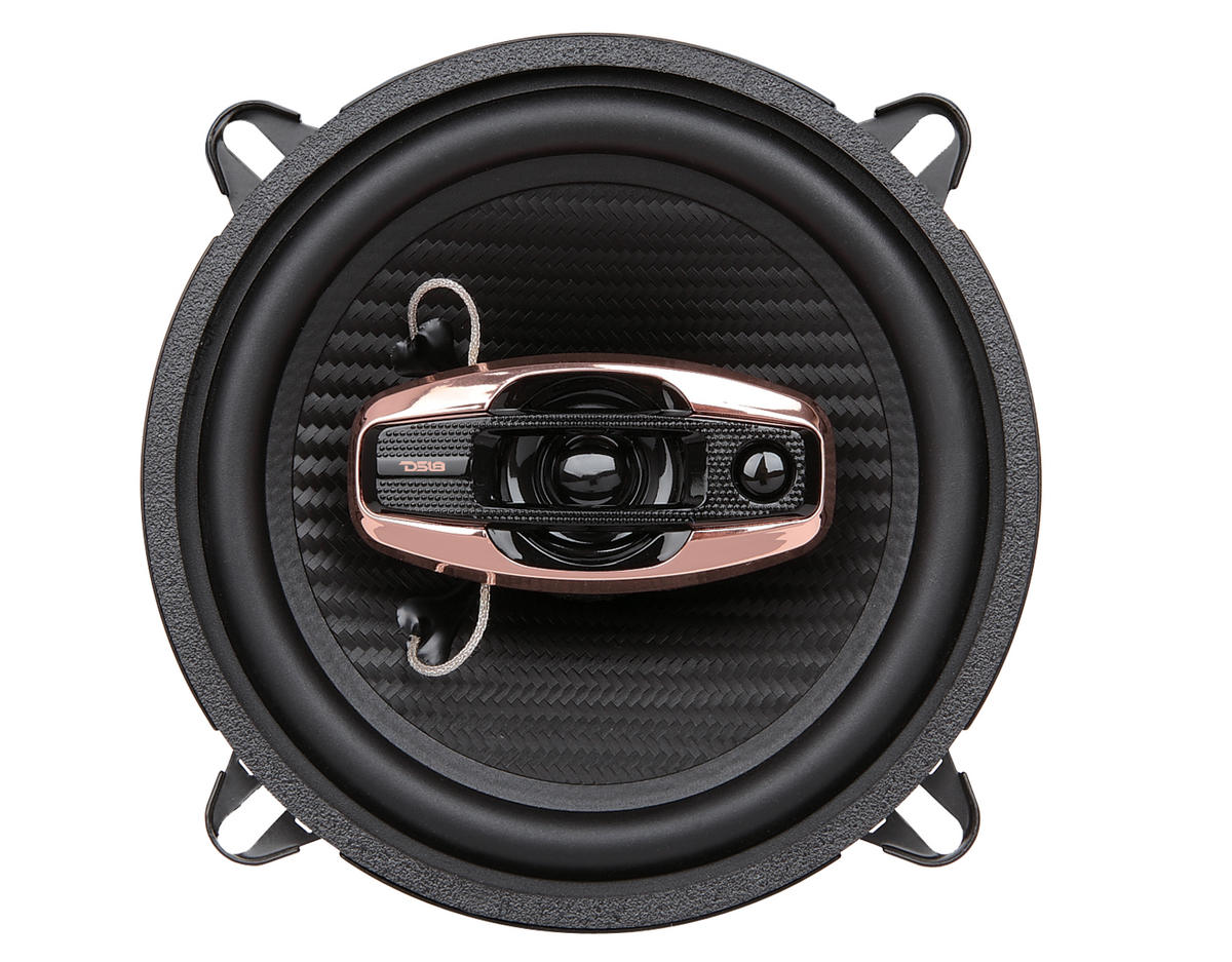 "DS18 BD-G5254 Black Diamond 300 Watts 5.25"" Inch Coaxial Speakers Pair"