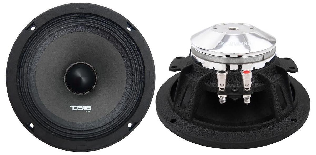 """DS18 EXL-MM64NB EXL 400 Watts 6.5"""" Inch Midrange Speaker"""