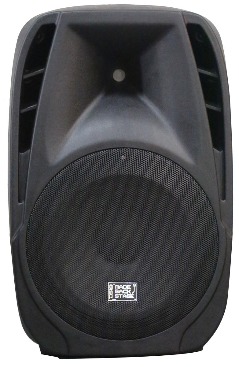 "DS18 MB-PW15BTLED 2000 Watt 15"" Bluetooth PA DJ Active Loud Speaker"