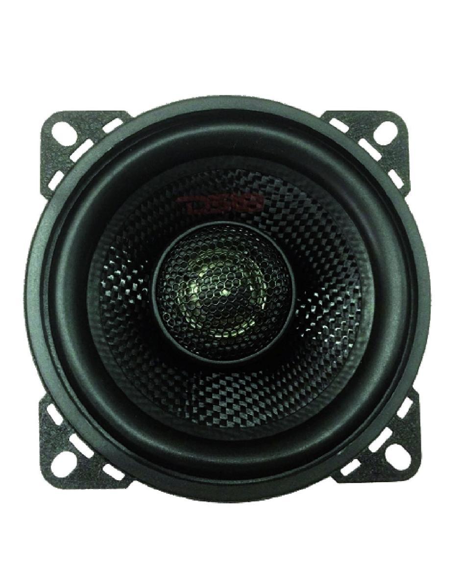 """DS18 Z-44 4"""" Car Audio Coaxial Speakers Neodymium Tweeters 4 Ohms 120 Watt Pair"""