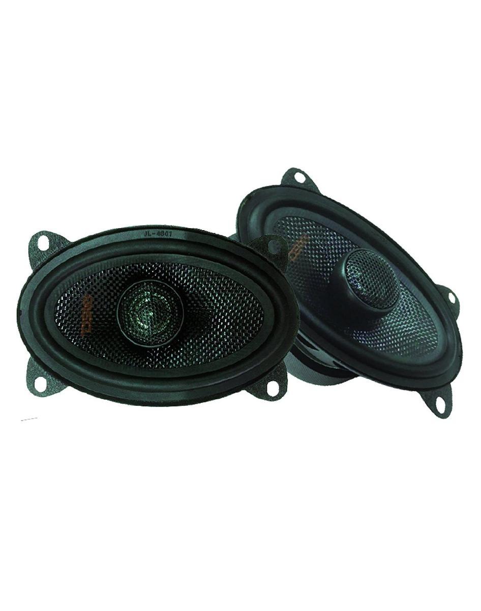 "DS18 Z-464 4""x6"" Car Audio Coaxial Speakers Neodymium Tweeters 4 Ohm 120 Watt Pair"