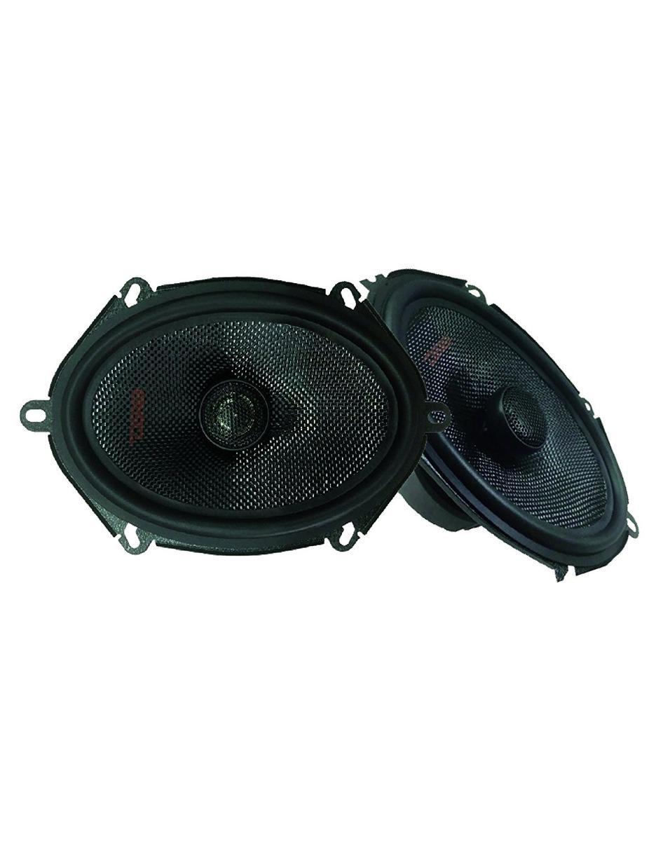 "DS18 Z-574 5""x7"" Car Audio Coaxial Speakers Neodymium Tweeters 4 Ohm 150 Watt Pair"