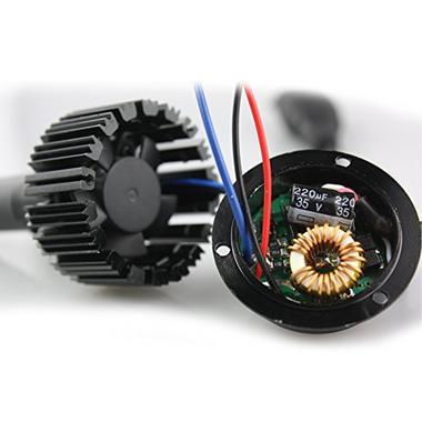 DS18 AS-HLLEDH76K LED H7 477 6K Car Headlight Upgraded Bulbs Thumbnail 3