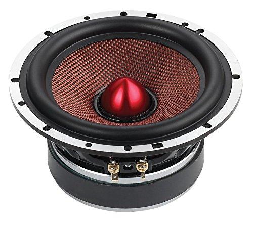 """DS18 DELUXE3C Deluxe 6.5"""" 200 Watt 3-Way Component Car Audio Speakers Single Thumbnail 3"""