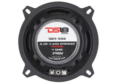 "DS18 GEN-550 GEN 290 Watts 5.25"" Inch Coaxial Speakers Pair Thumbnail 6"