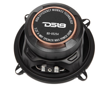 "DS18 BD-G5254 Black Diamond 300 Watts 5.25"" Inch Coaxial Speakers Pair Thumbnail 3"