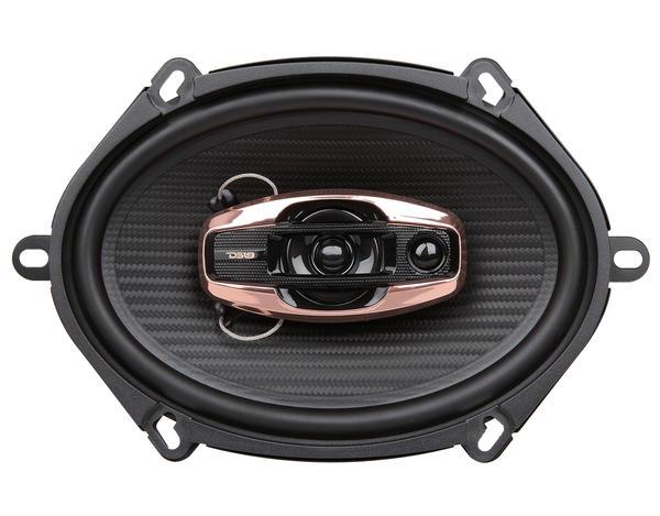 "DS18 BD-G574 Black Diamond 380 Watts 5x7"" Inch Coaxial Speakers Pair Thumbnail 1"