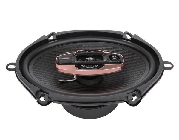 "DS18 BD-G574 Black Diamond 380 Watts 5x7"" Inch Coaxial Speakers Pair Thumbnail 3"