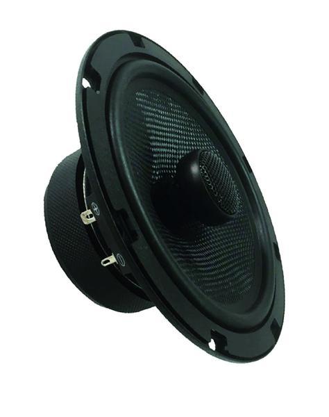 "DS18 Z-654 6.5"" Car Audio Coaxial Speakers Neodymium Tweeters 4 Ohm 180 Watt Pair Thumbnail 3"