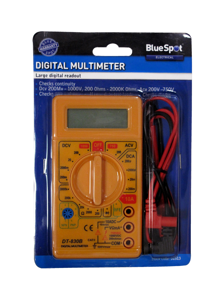 Blue Spot 31513 Digital Multi-meter