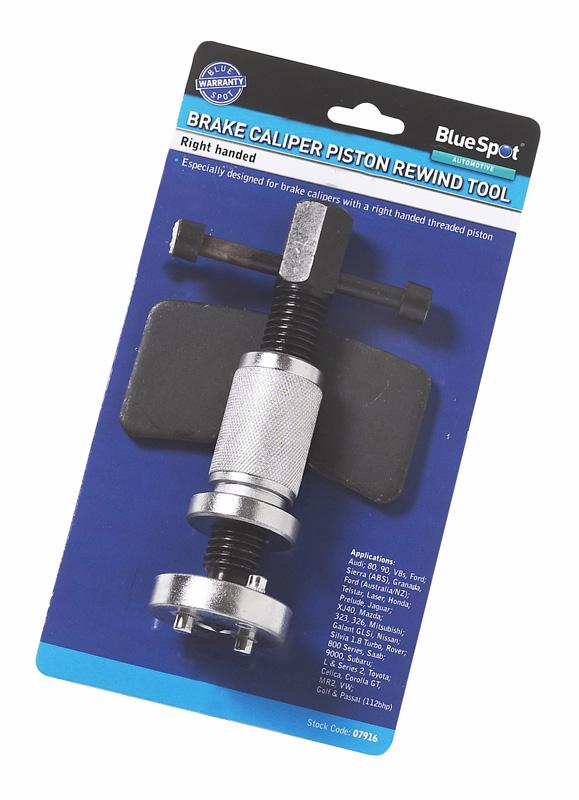 Blue Spot 07916 Right Handed Brake Piston Wind Back Tool