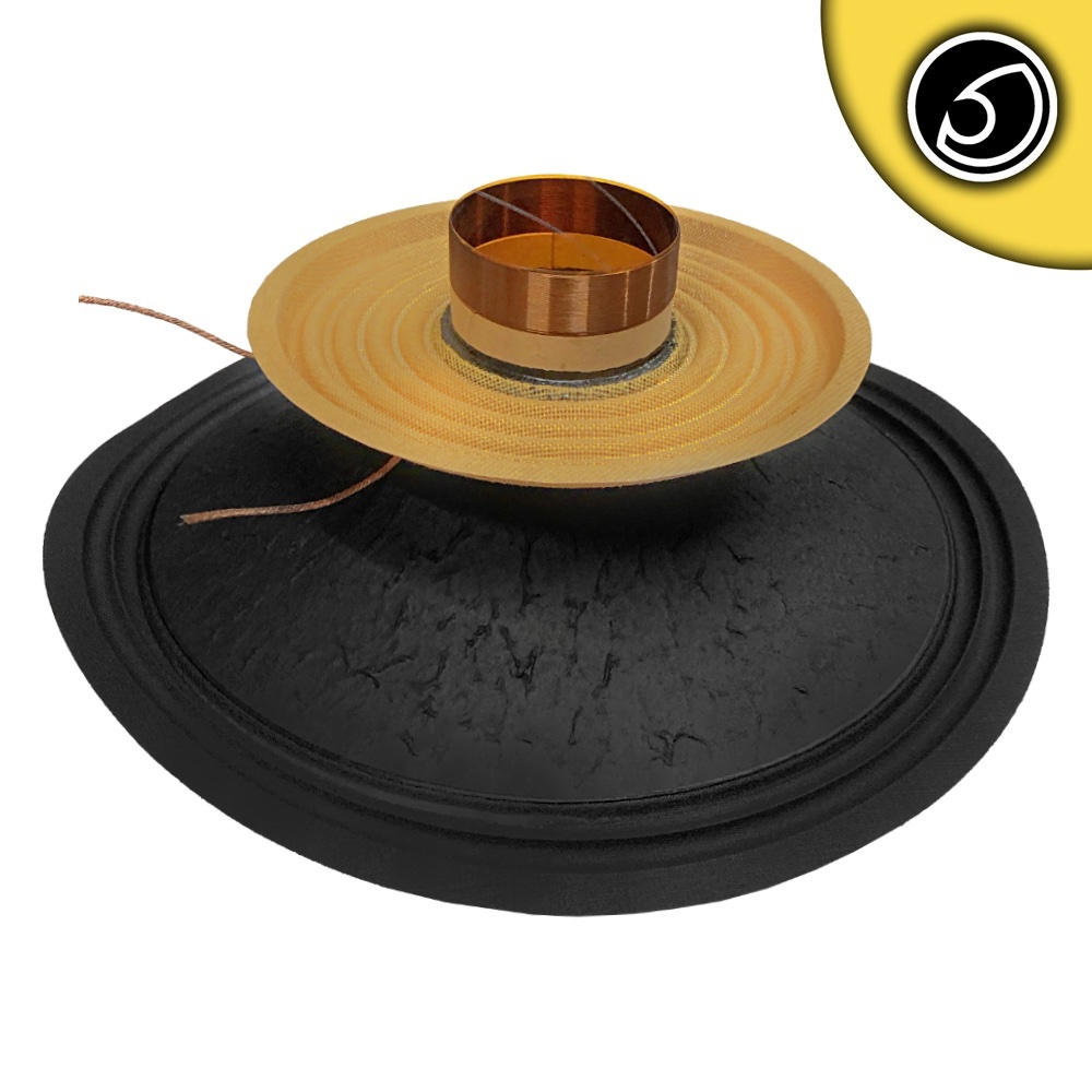 """Bassface PAW10.1 400w 10"""" 20cm 4Ohm Mid Woofer Midbass Driver Recone Kit Single"""