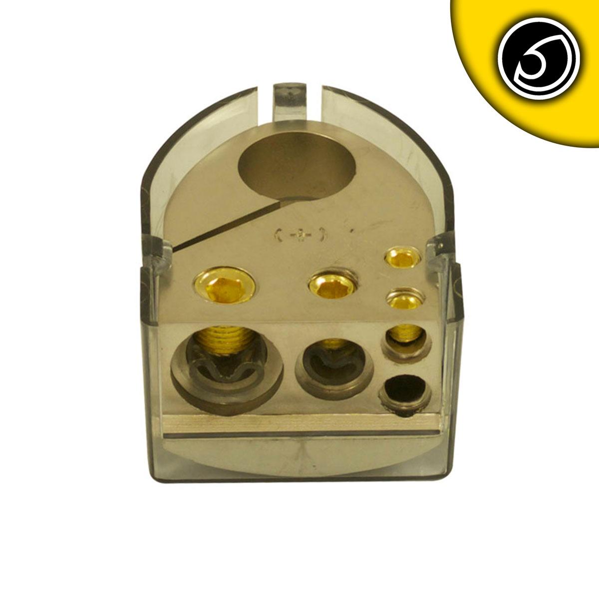 Bassface PBTP.1 Car Audio Battery Positive Terminal 1x0AWG 1x4AWG 2x8AWG Inputs