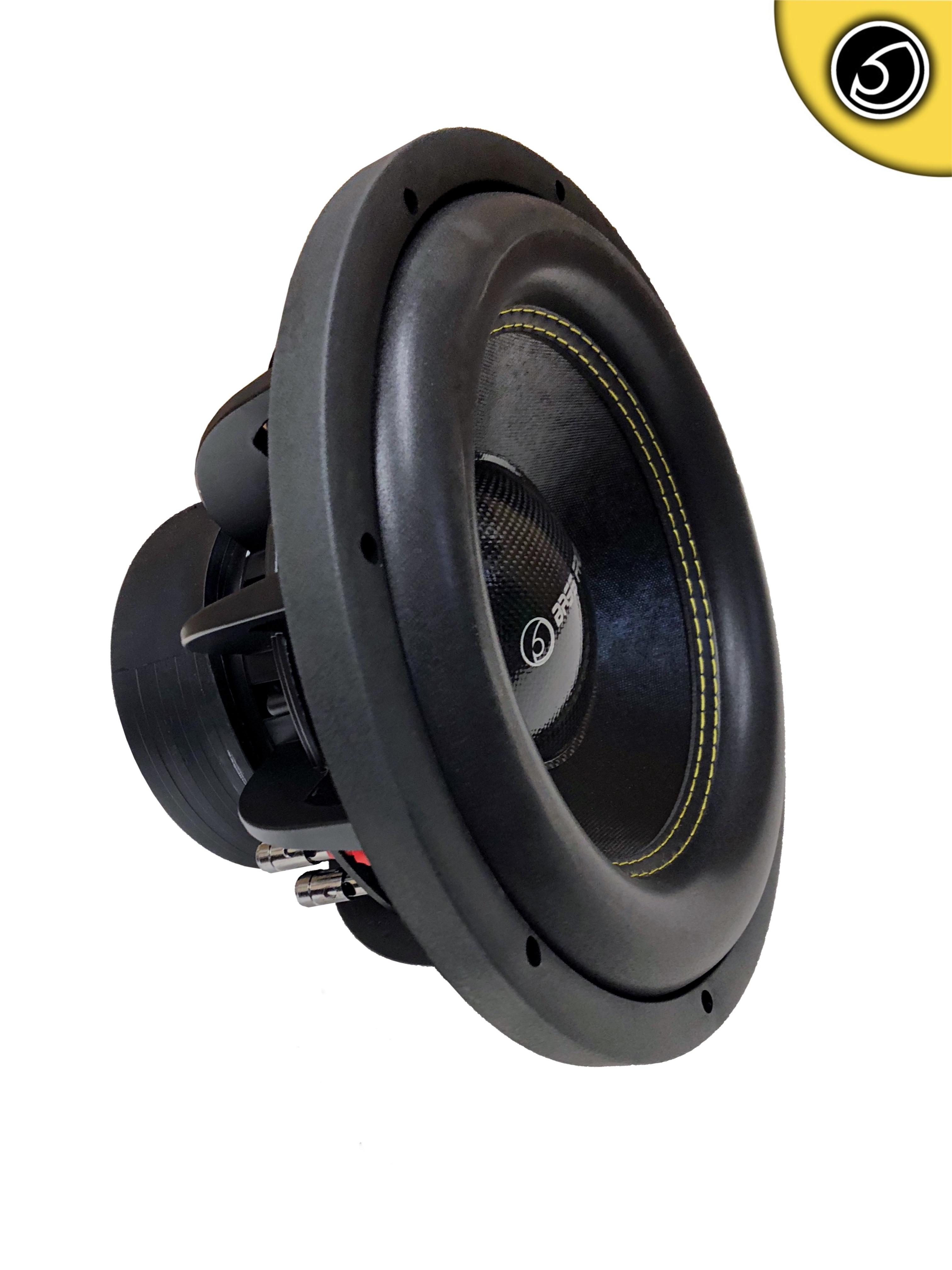 "Bassface SPL12.2S 12"" Inch 30cm 2700w Car Subwoofer 2x4Ohm DVC Sub Woofer SPL SQ"