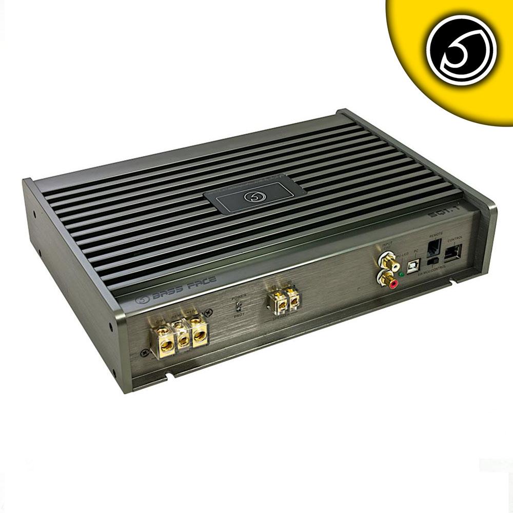 Bassface SQ1.1 990w PC Control Class D Monoblock DSP Car Subwoofer Amplifier SQ
