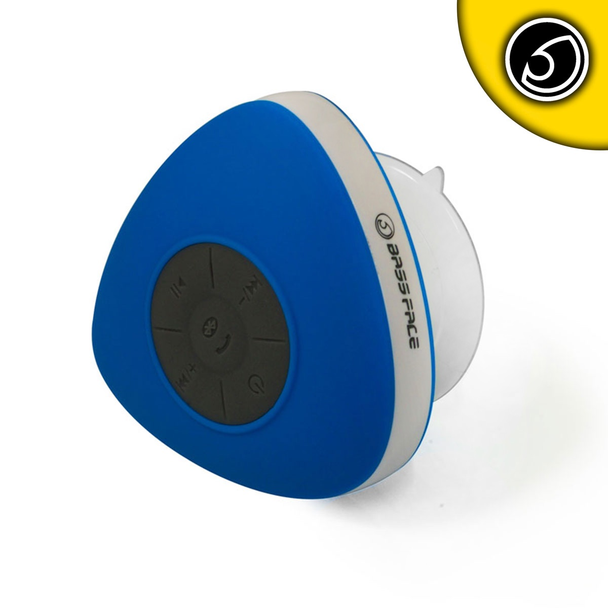 Bassface BTSW.1BLUE Waterproof Shower Bluetooth Speaker Iphone Android iPhone