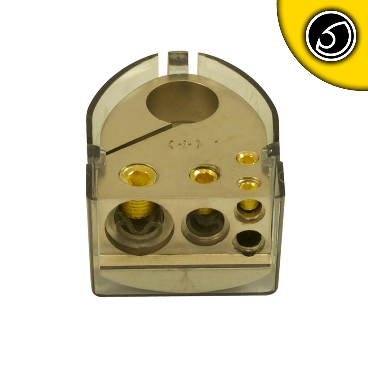 Bassface PBTP.1 Car Audio Battery Positive Termil 1x0AWG 1x4AWG 2x8AWG Inputs