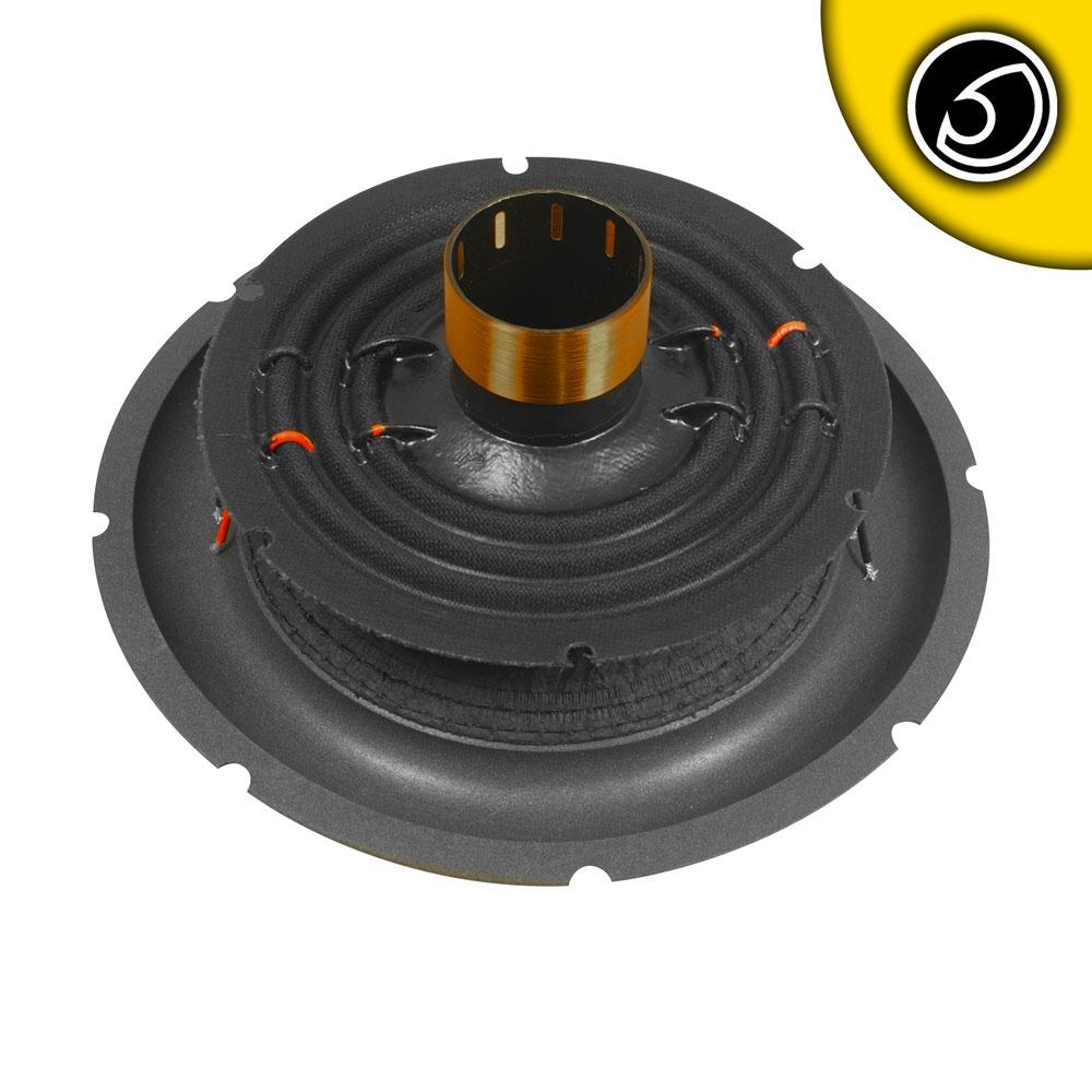 Bassface SPL10.2RC 10 Inch 25cm Car Subwoofer Recone Repair Kit 2x2Ohm DVC