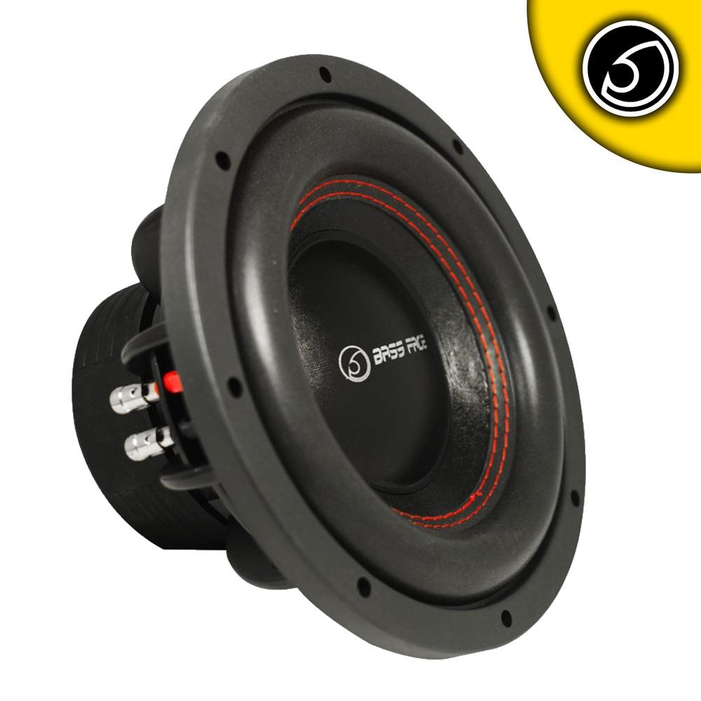 """Bassface SPL10.3 10"""" Inch 25cm 1600w Car Subwoofer 2x2Ohm DVC Sub Woofer SPL SQ"""