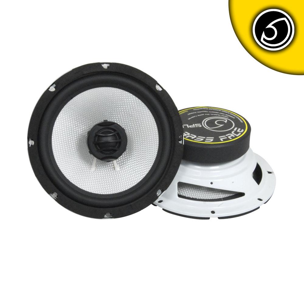 """Bassface SPL8.2 1200w 8"""" Inch 20cm Coaxial 2Way Door Parcel Shelf Speakers Pair"""