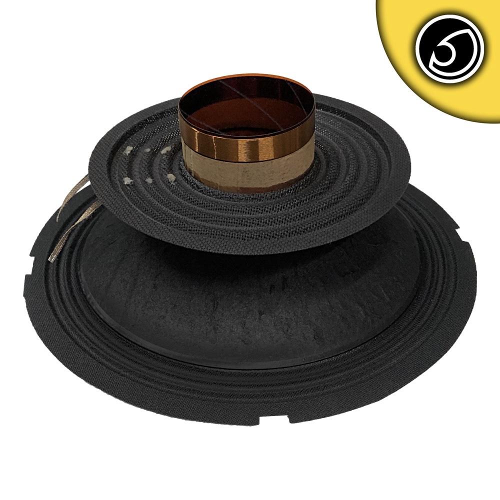 "Bassface SPL8M.2.8RC 8"" Inch 20cm Midrange Midbass 8 Ohm SVC Recone Rebuilt Kit"