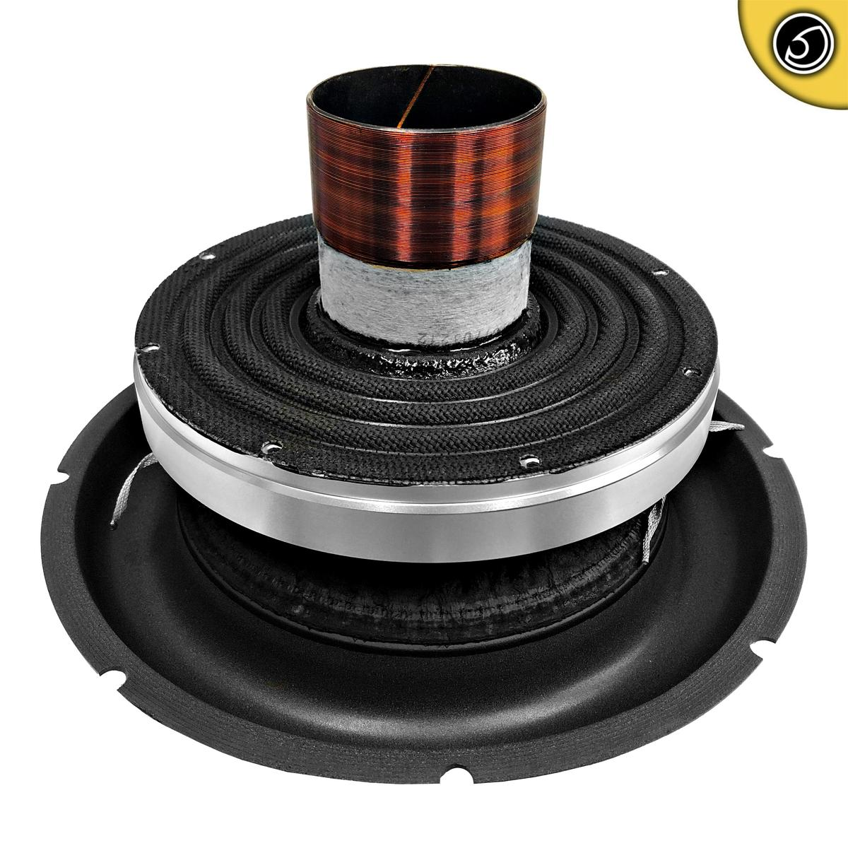 Bassface BIGRED15.5RC 15 Inch 38cm Car Subwoofer Recone Repair Kit 2x1Ohm DVC