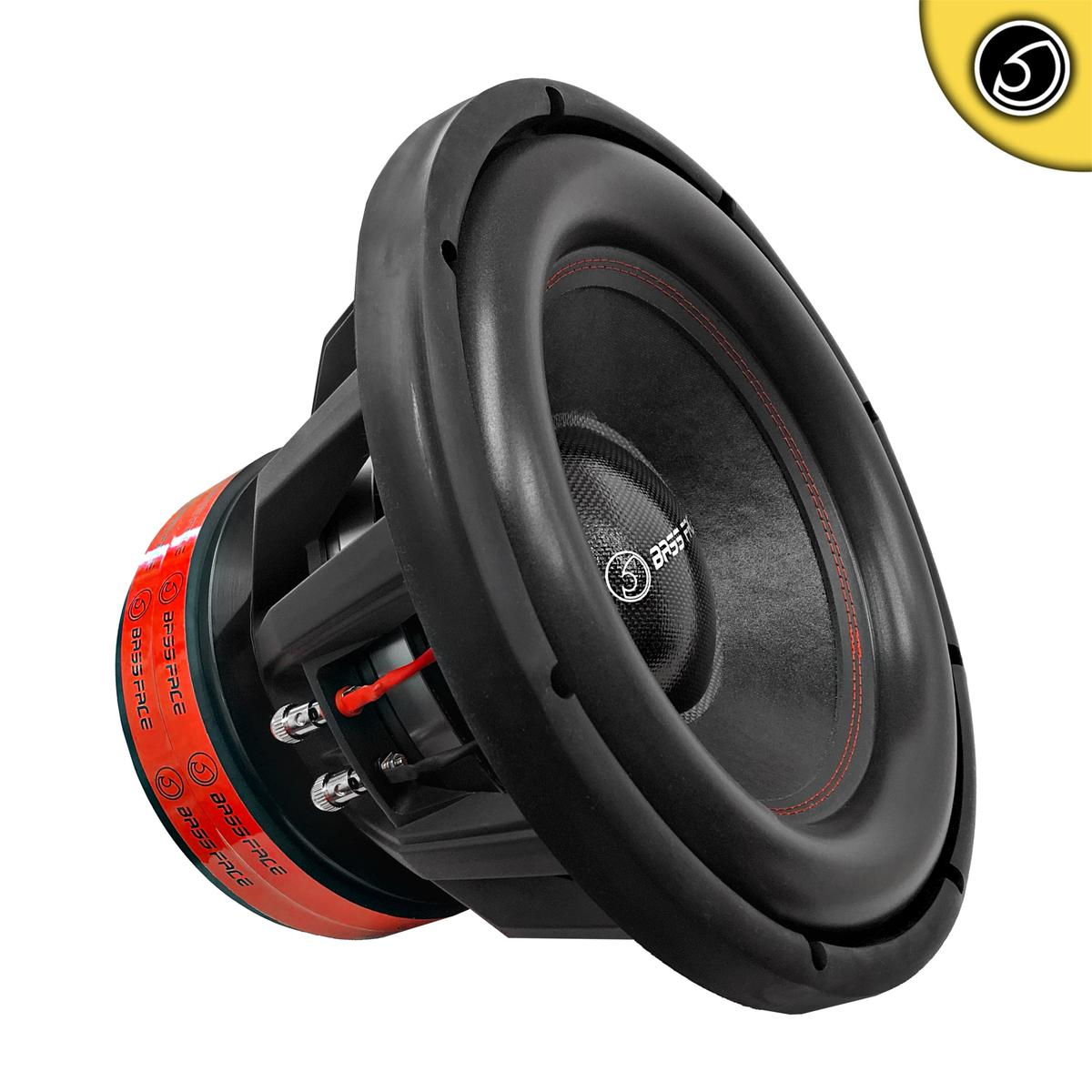 "Bassface BIGRED15.5 15"" Inch 38cm 3500w RMS Subwoofer 2x1Ohm Extreme SPL SQ Sub"