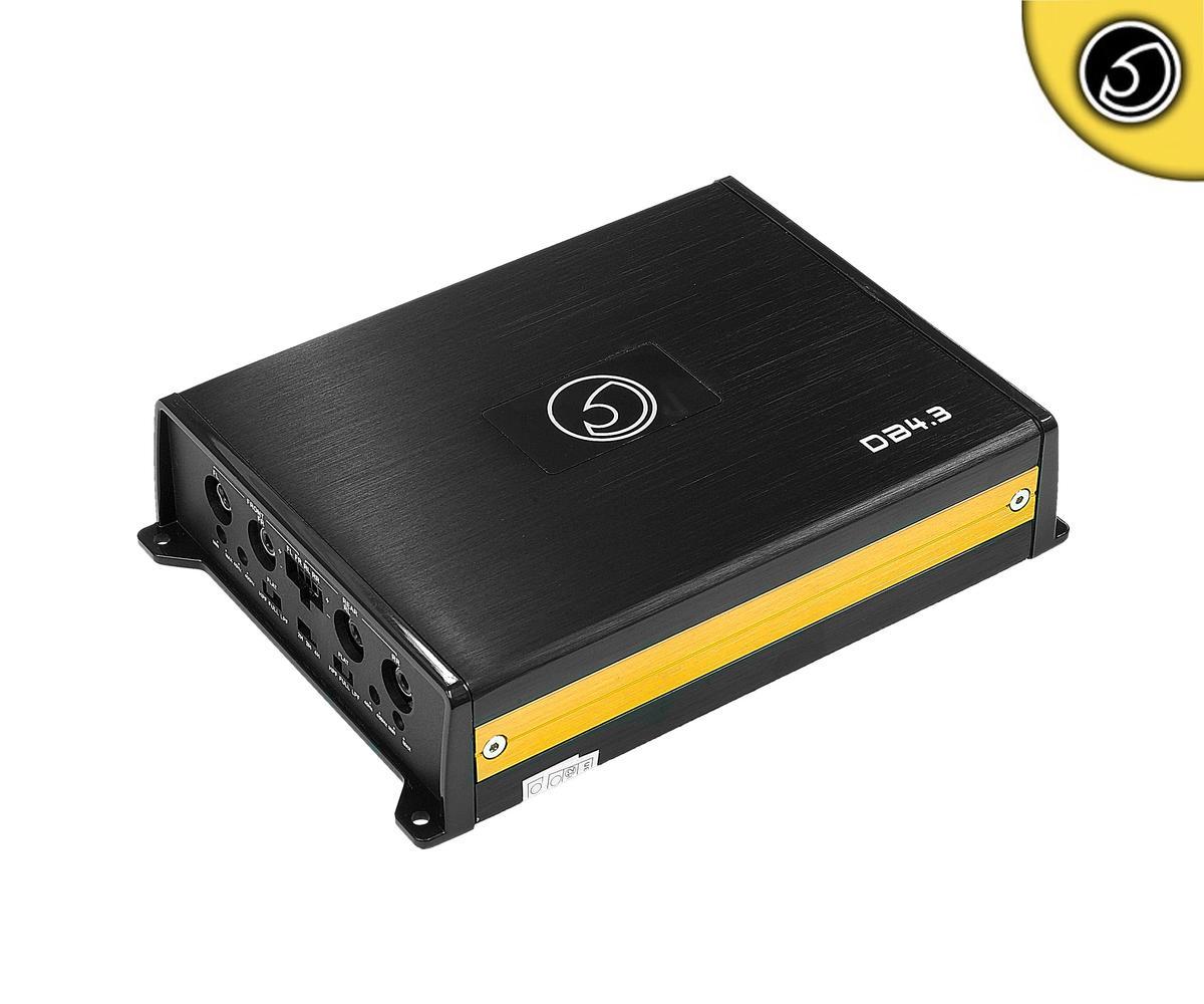 Bassface DB4.3BT 200w 4/3/2 Channel Class D Micro Sized Car Speaker Amplifier