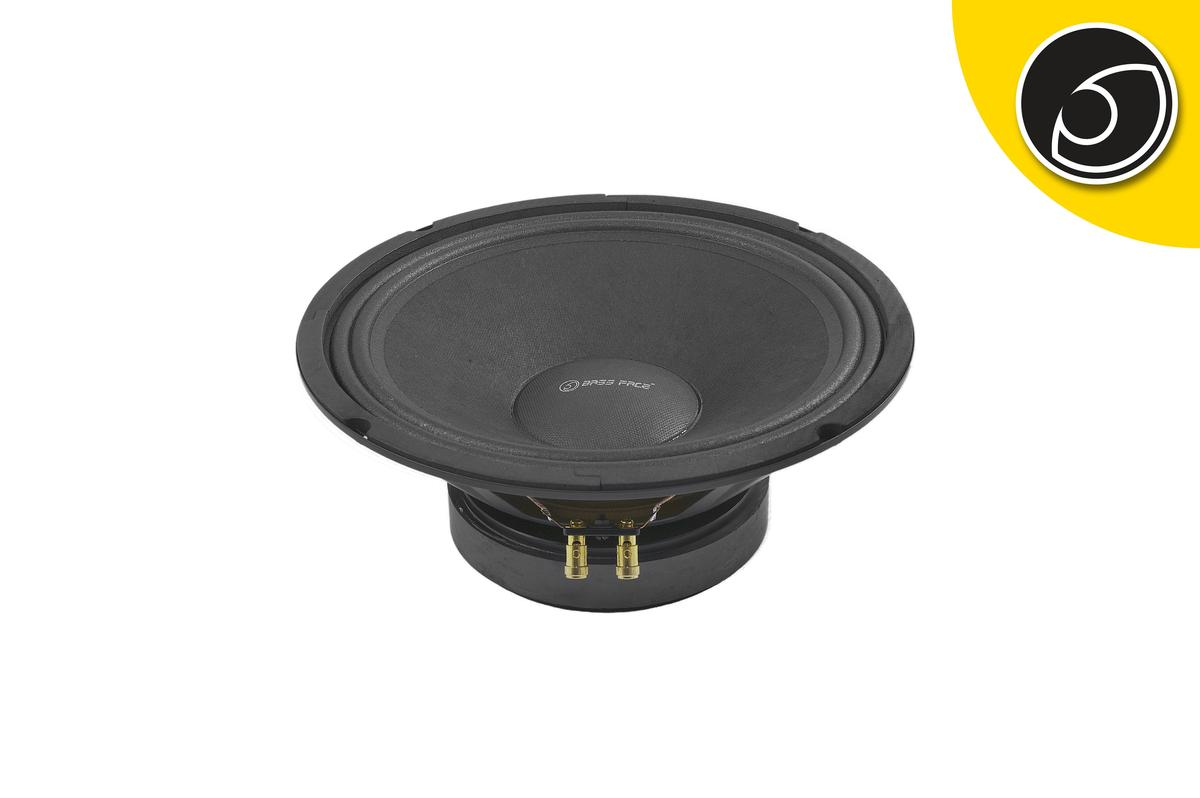 "Bassface PAW10.1 400w 10"" 26cm 4Ohm Midrange Midbass Driver SQ Speaker Single"