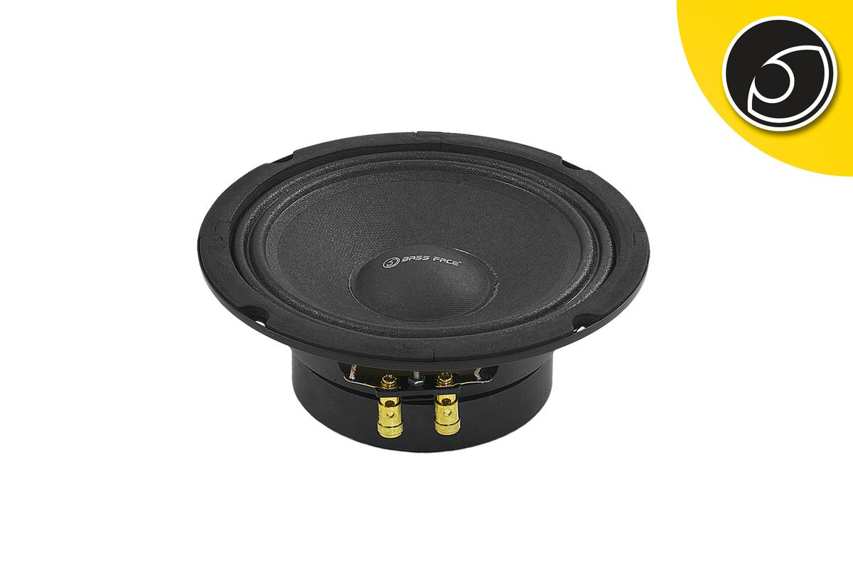 """Bassface PAW6.1 160w 6.5"""" 17cm 8Ohm Mid Woofer Midbass Driver SQ Speaker Single"""