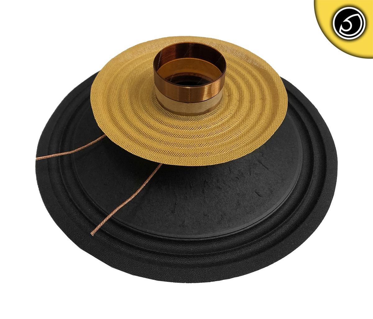 """Bassface PAW8.1 200w 8"""" 20cm 4Ohm Mid Woofer Midbass Driver Recone Kit Single"""