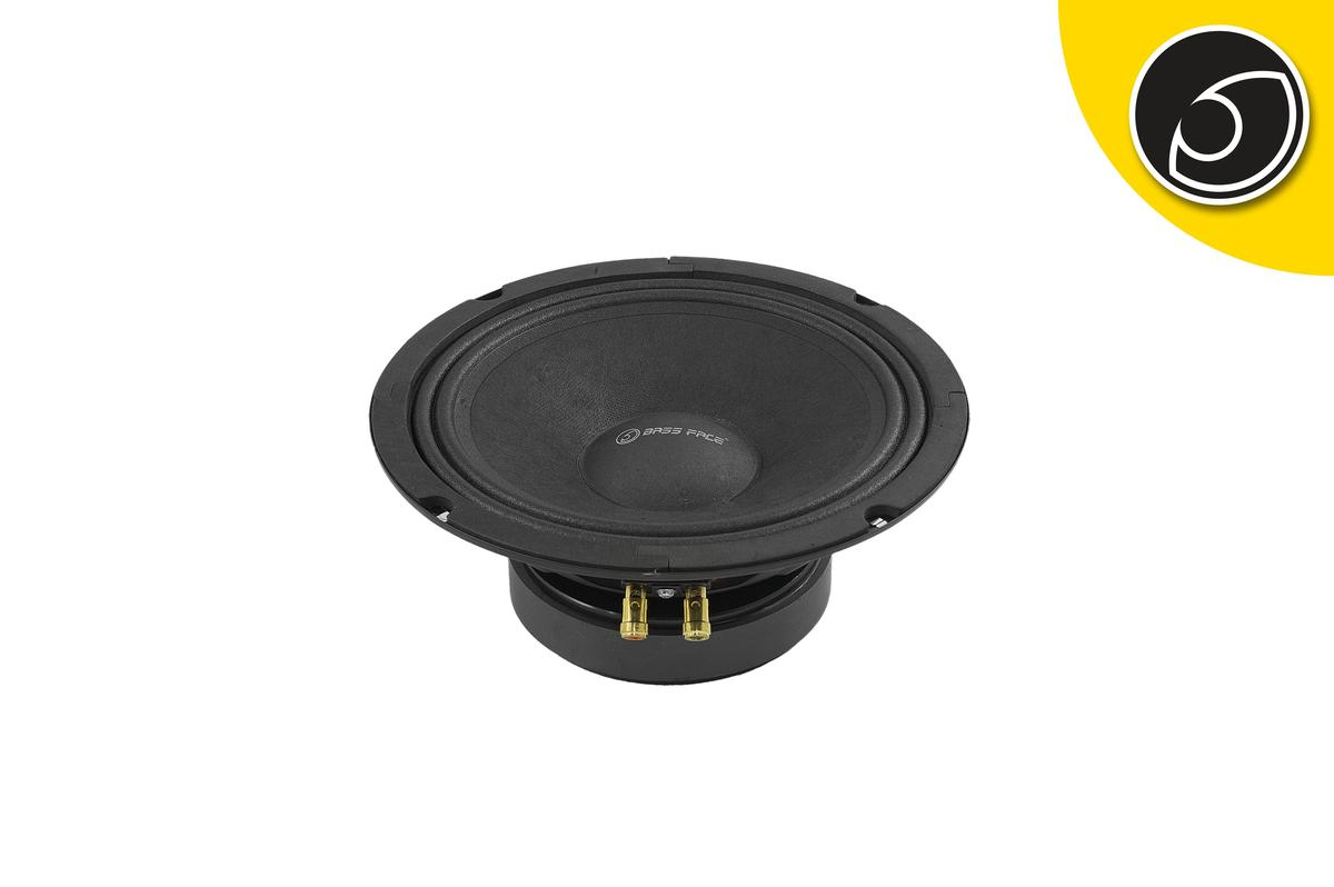 """Bassface PAW8.1 200w 8"""" 20cm 4Ohm Mid Woofer Midbass Driver SQ Speaker Single"""