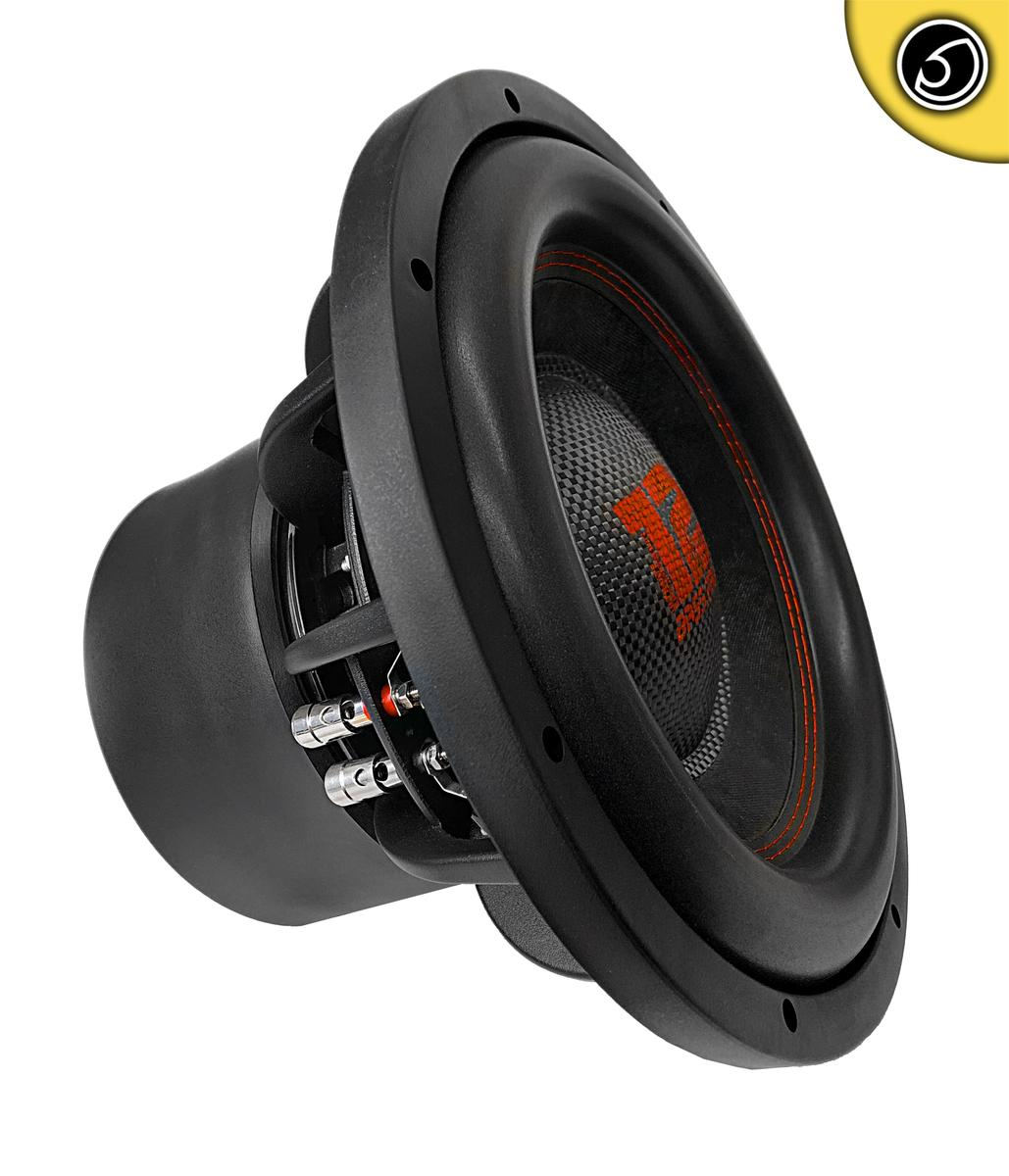 """Bassface RED12.4 12"""" Inch 30cm 2x2Ohm DVC Pro SPL SQ Series Subwoofer 2500w RMS"""