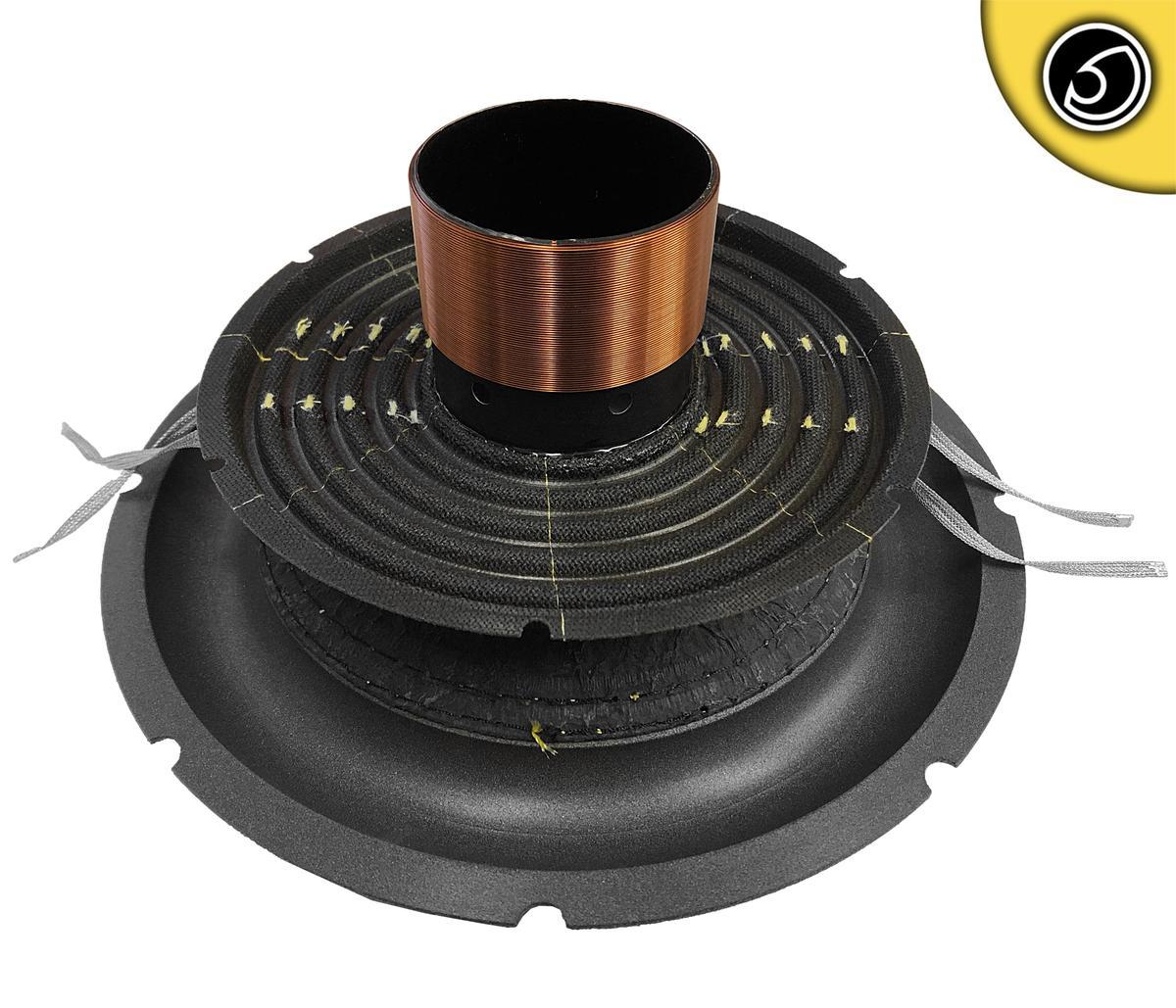 Bassface SPL10.3SRC 10 Inch 25cm Car Subwoofer Recone Repair Kit 2x2Ohm DVC