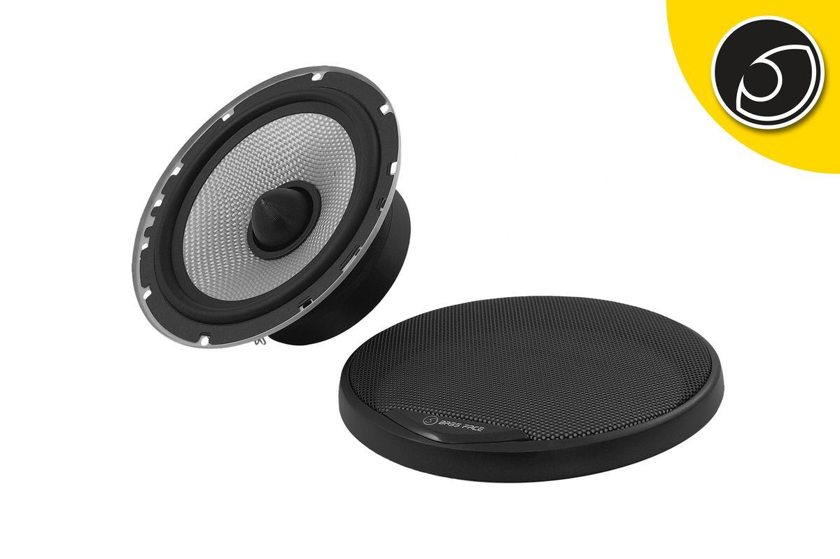 "Bassface SPL6M.2 6.5"" 16.5cm 300w 4Ohm Midbass Driver Car Door Speaker Single"